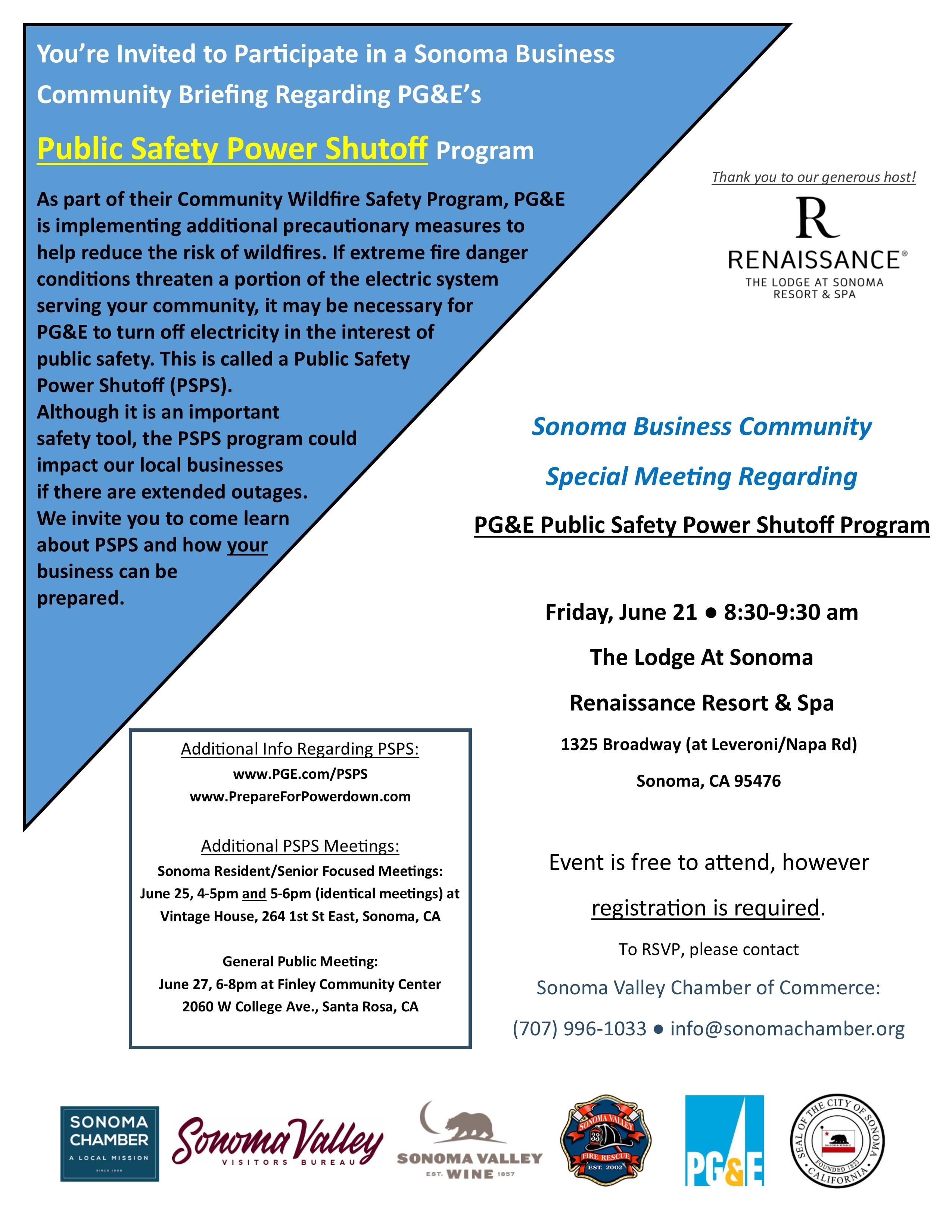 PSPS Meeting