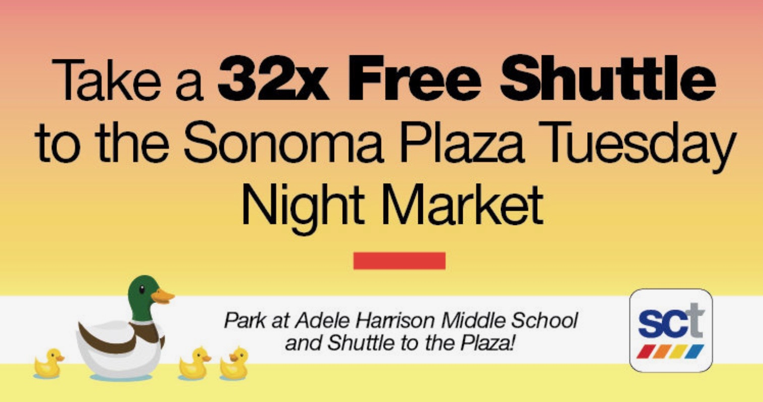 Route 32 Shuttle to Tuesday Farmers' Market