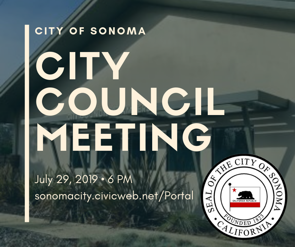 City Council Meeting July 29th