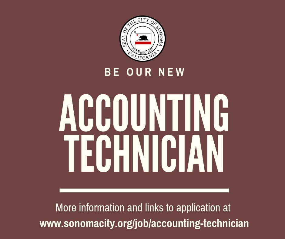 Now Hiring Accounting Technician