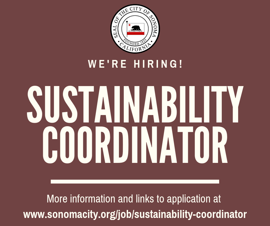 City seeking part time sustainability coordinator