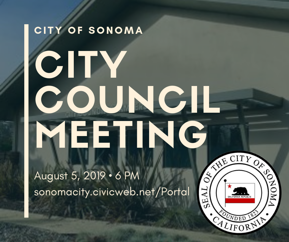 City Council Meeting, August 19th