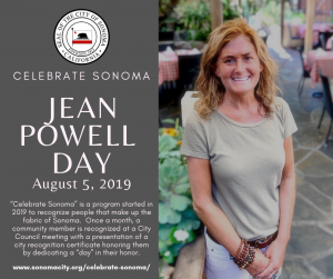 Jean Powell Day, August 5, 2019