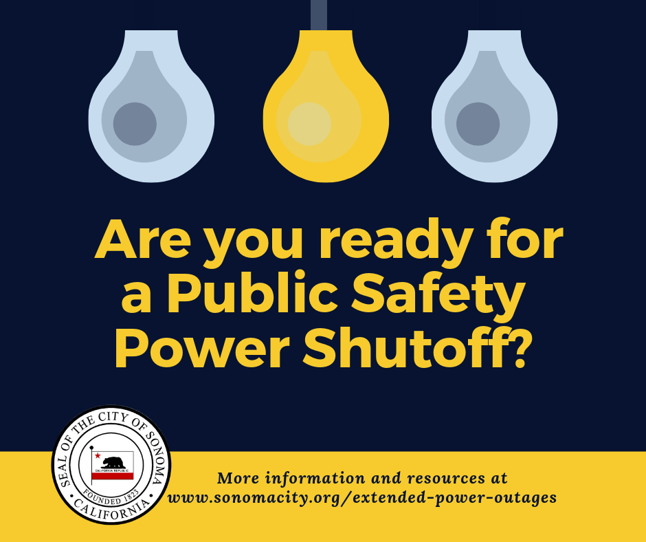 Are you ready for a Public Safety Power Shutoff?
