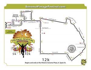 Vintage Festival 12K Race Route