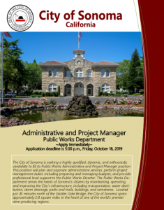 Administrative and Public Manager Brochure.