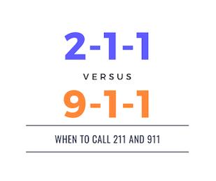 211 vs 911