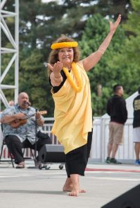 Betty Ann performs Kaulana Na Pua