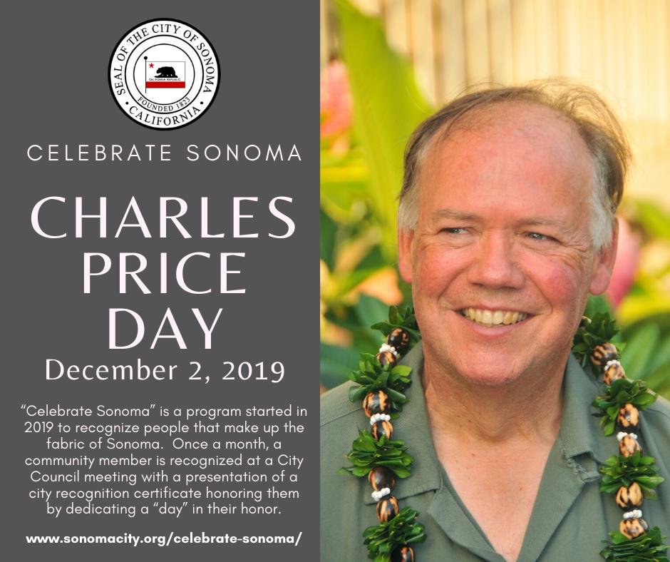 Charles Price Day, December 2nd, 2019
