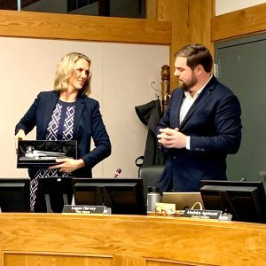Recognition of Outgoing Mayor Amy Harrington