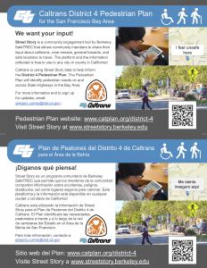 Caltrans District 4 Ped Plan Postcard_Nov 2019_english-spanish
