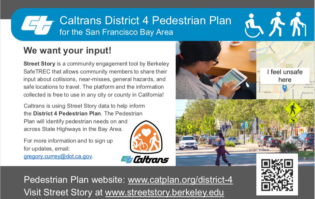 Caltrans District 4 Pedestrian Plan