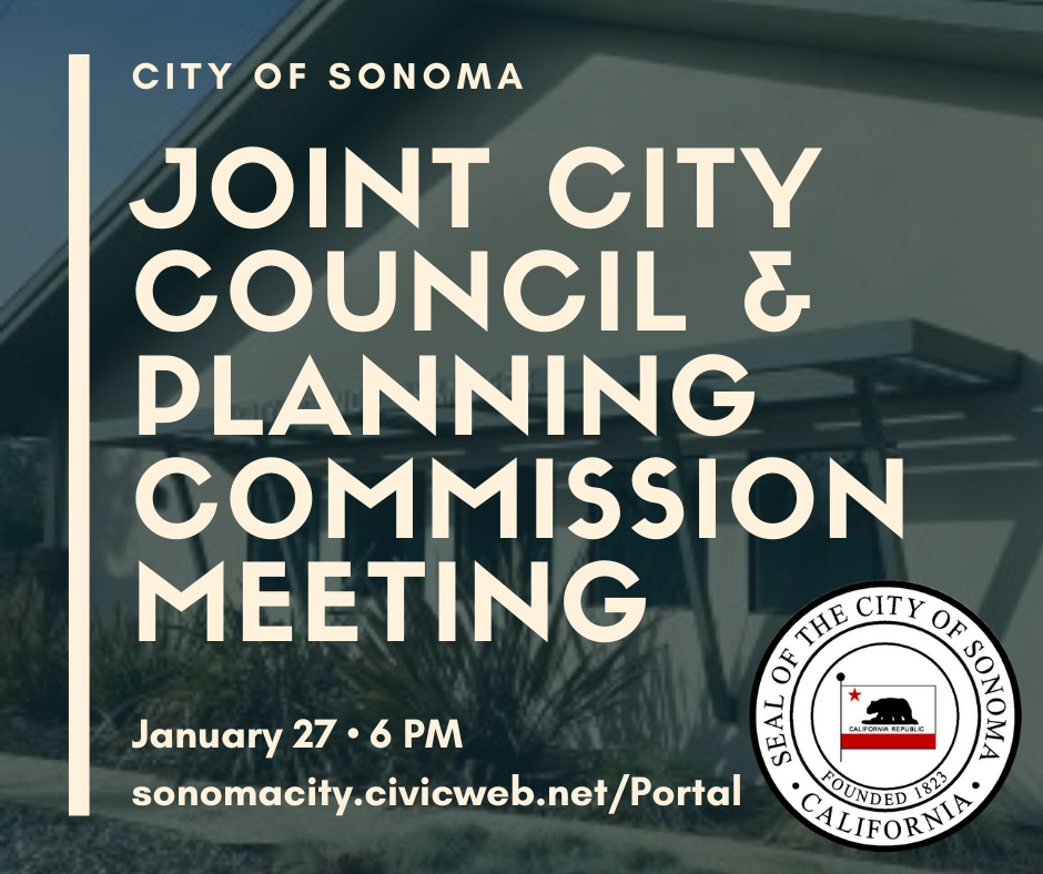 Joint City Council & Planning Commission Meeting January 27th