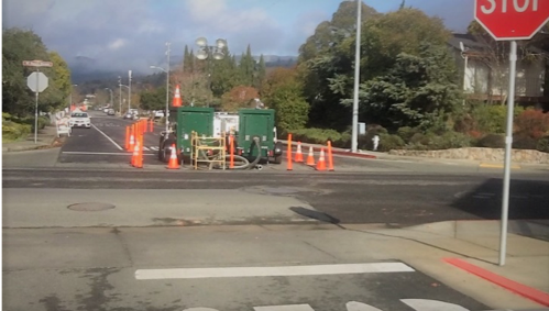 Portable Pumps are part of the Sonoma Water Sewer Trunk Replacement Project