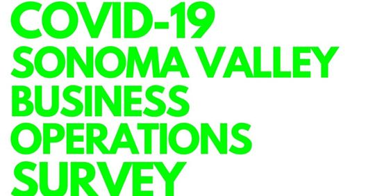 sonoma valley business operations survey