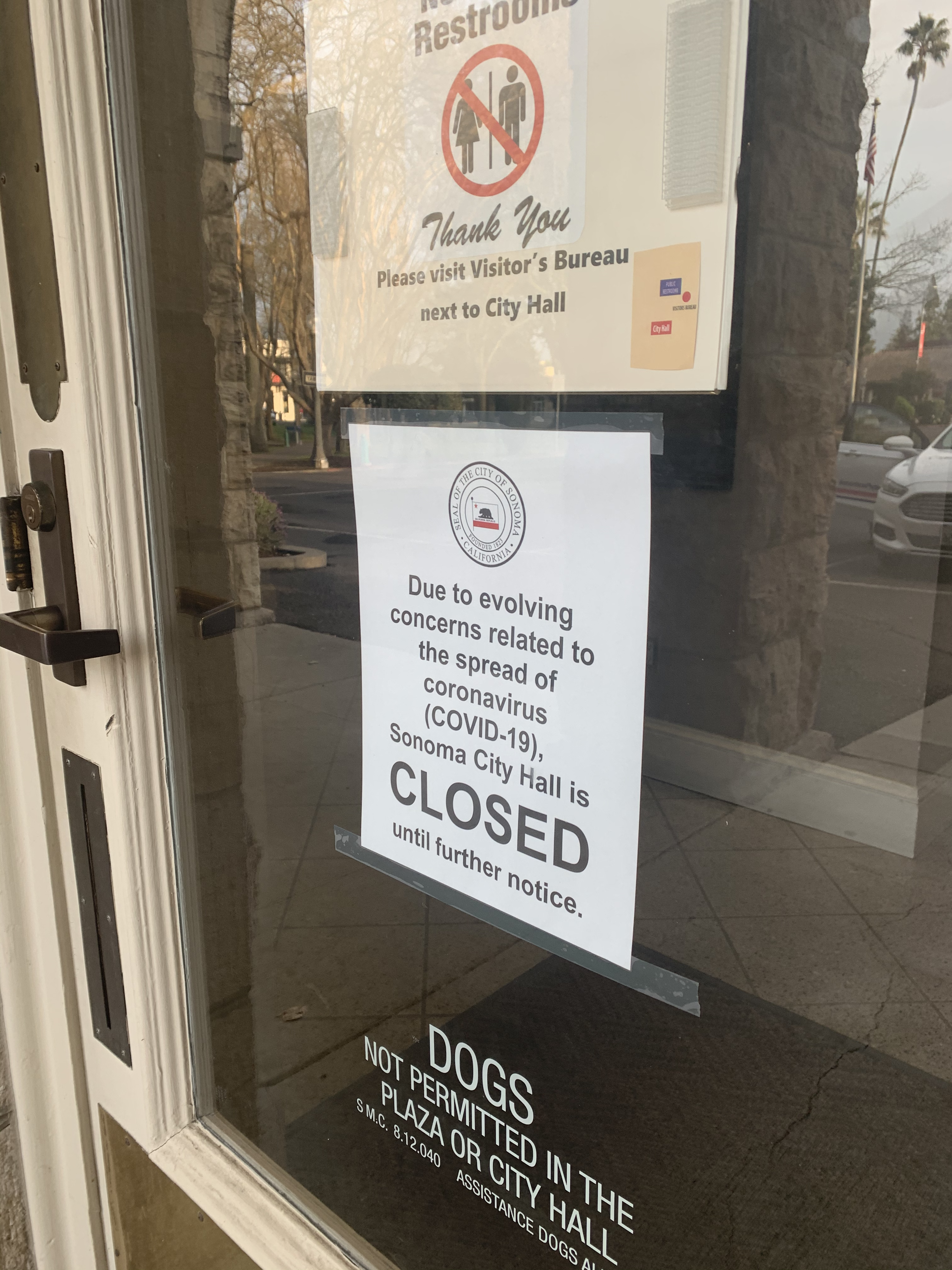 City Offices Closed to Public Through April 5th