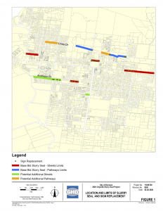 Slurry Seal Project Map