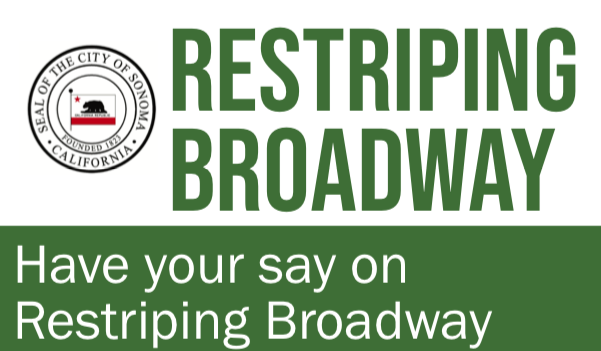 have your say in restriping broadway