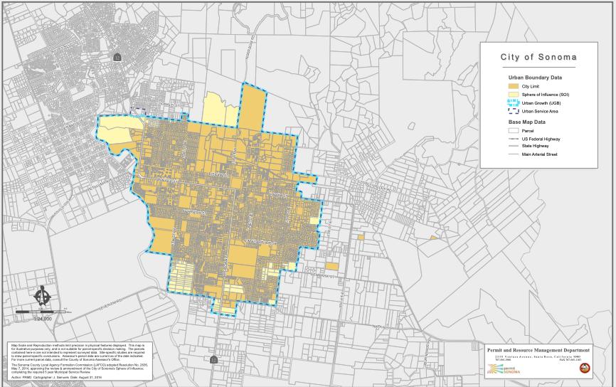 Urban Growth Boundary Map
