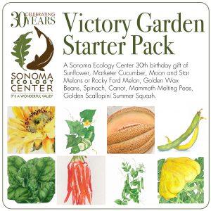 Sonoma Ecology Center Victory Garden Starter Pack