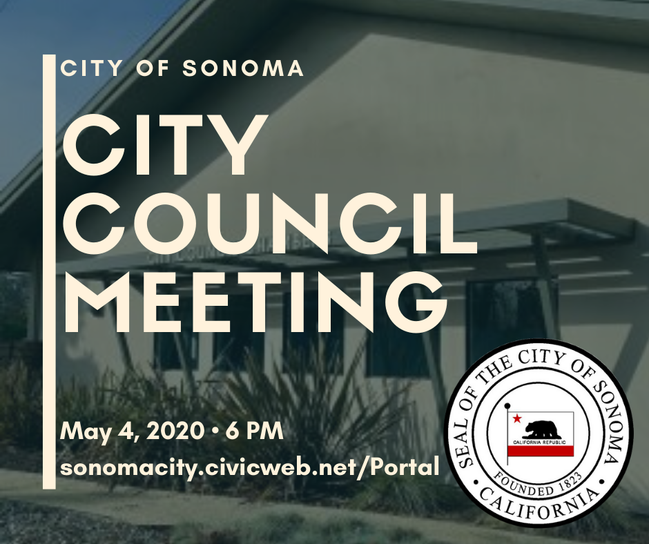 City Council Meeting May 4th, 6pm