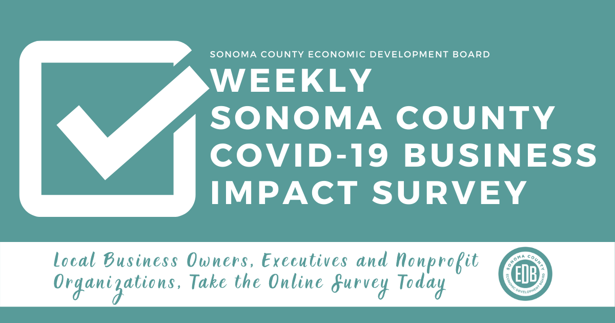 Sonoma County Economic Development Board Survey