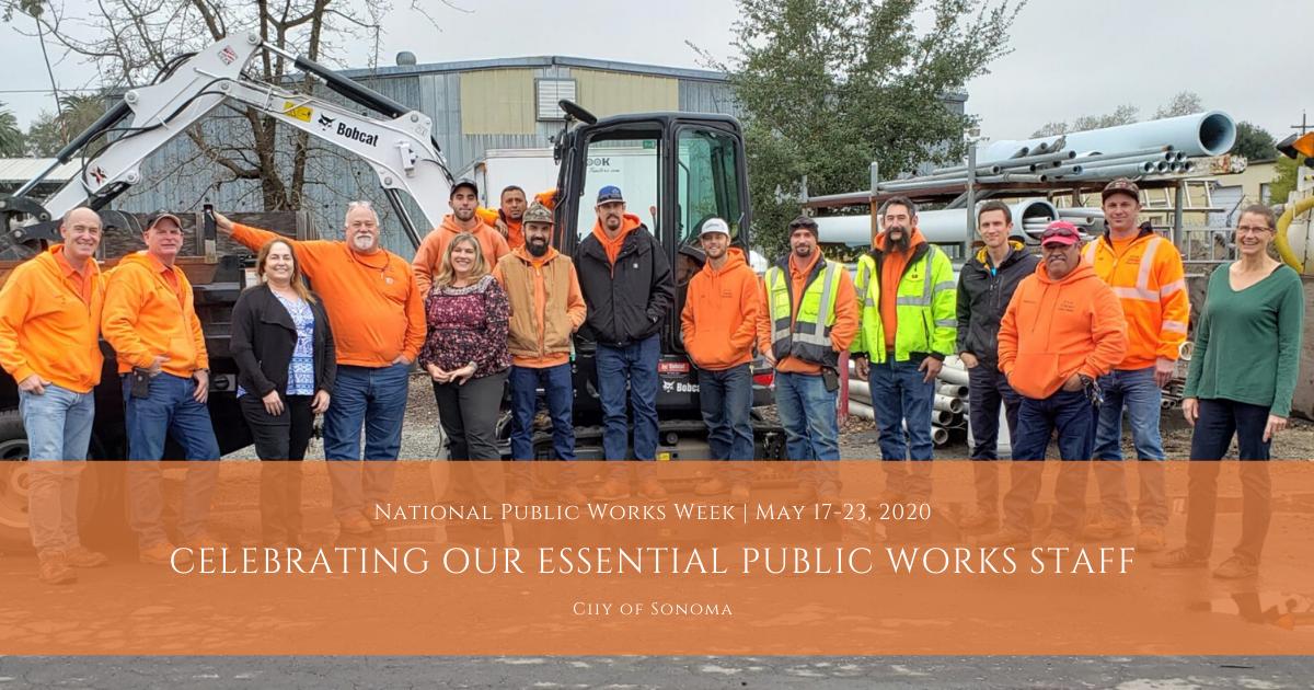 Public Works Week 2020