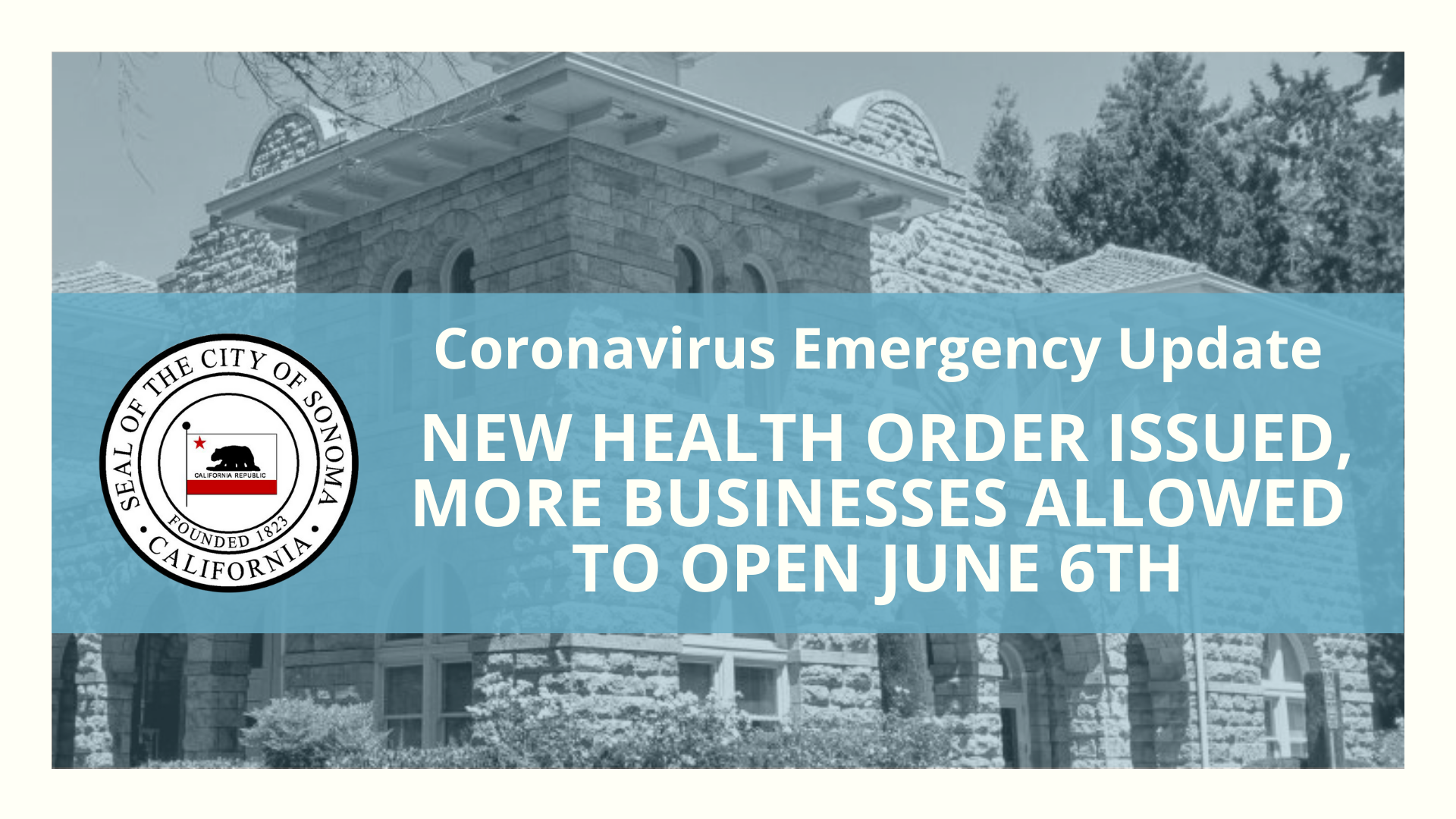 New Health Order Issued