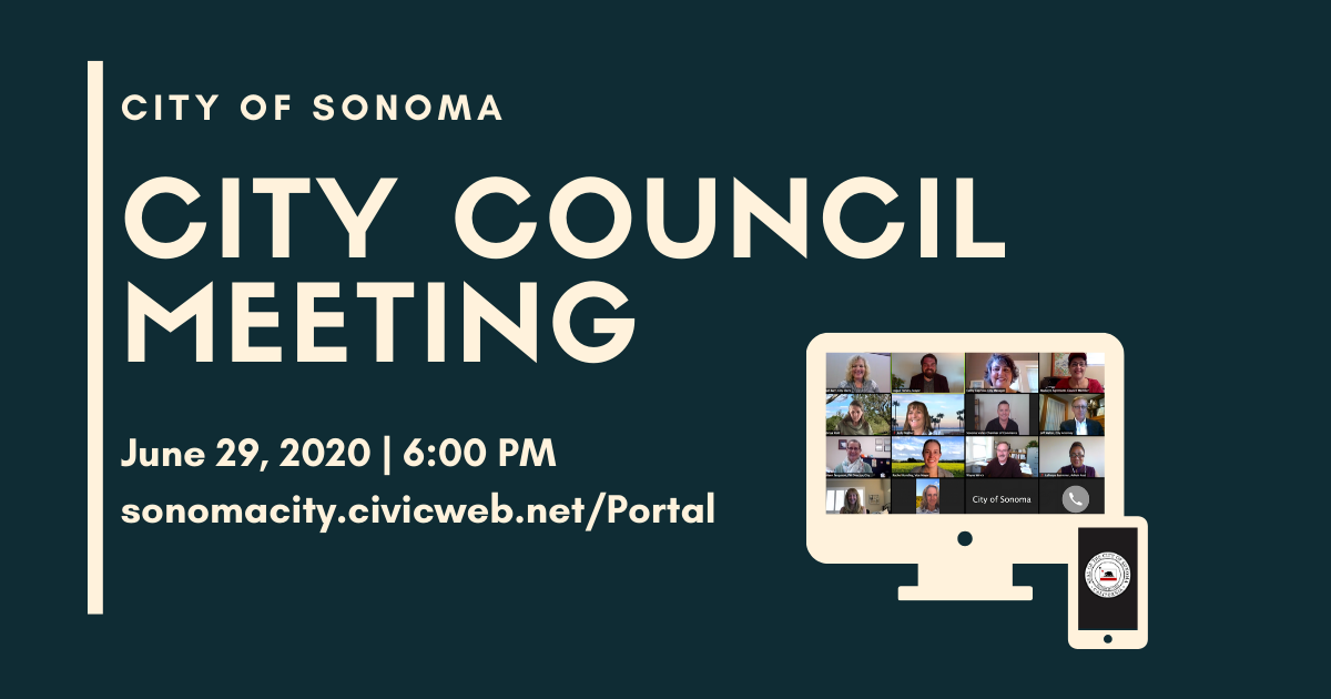 City Council Meeting, Monday June 29th