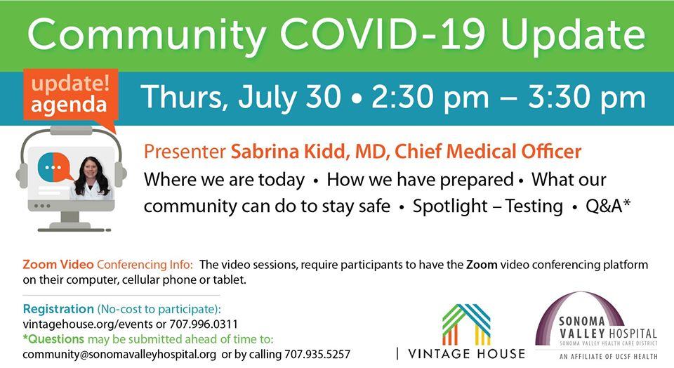 Community COVID-19 Update