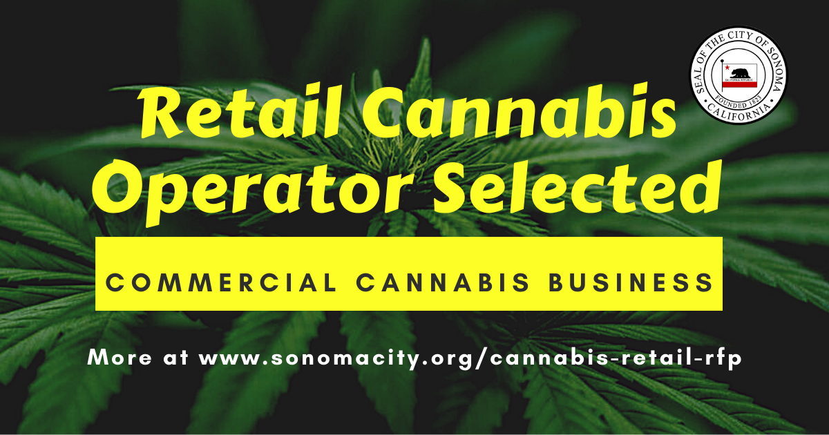 Retail Cannabis Operator Selected