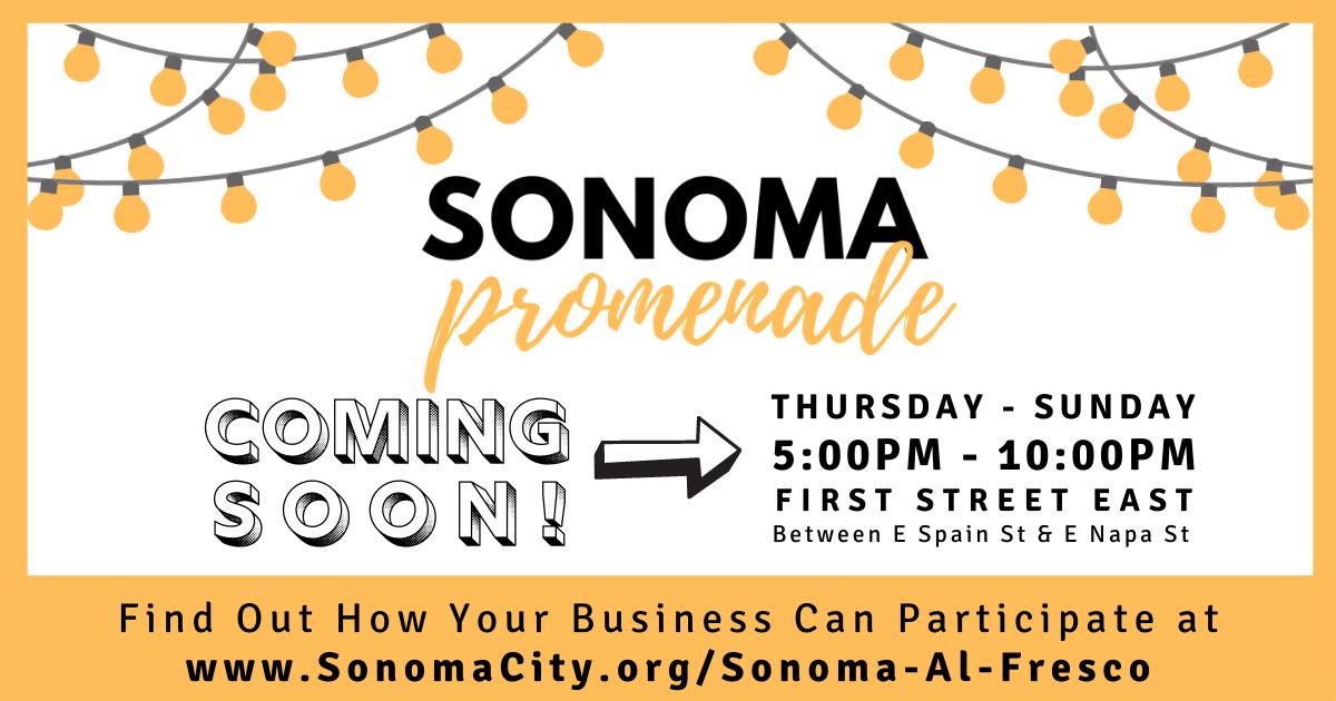 sonoma promenade, coming soon