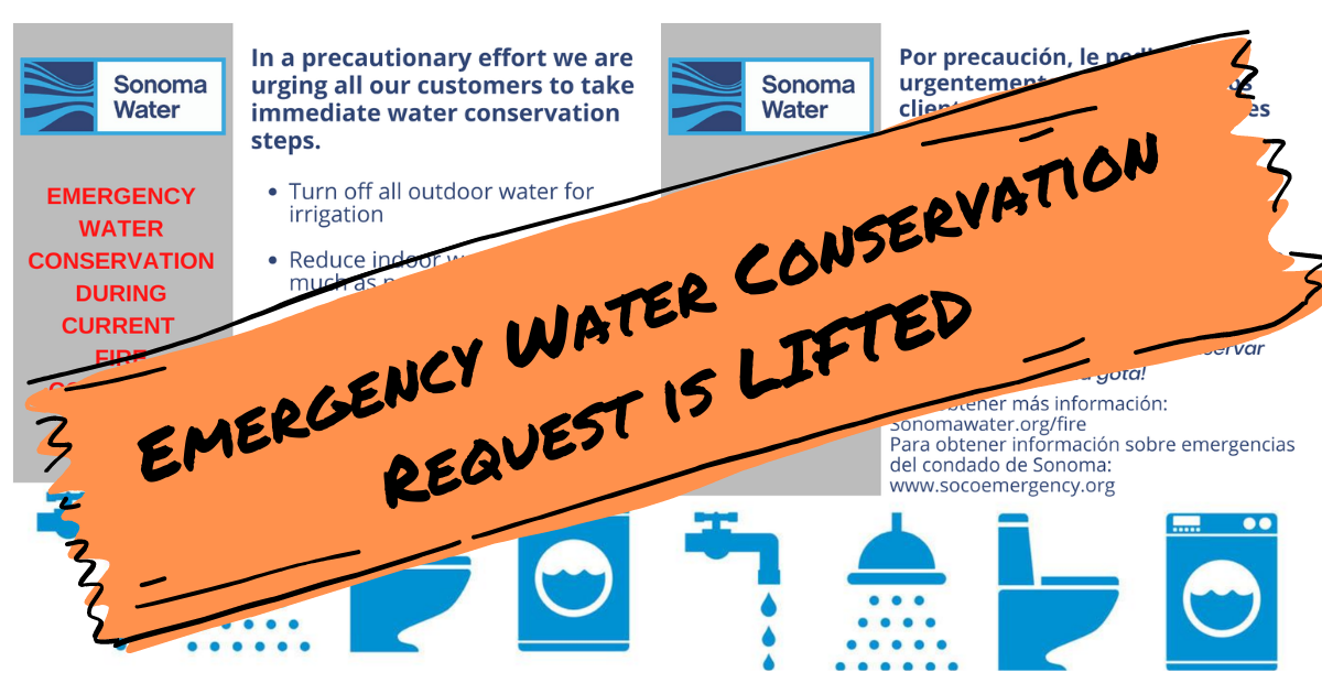 Water Conservation Request LIfted