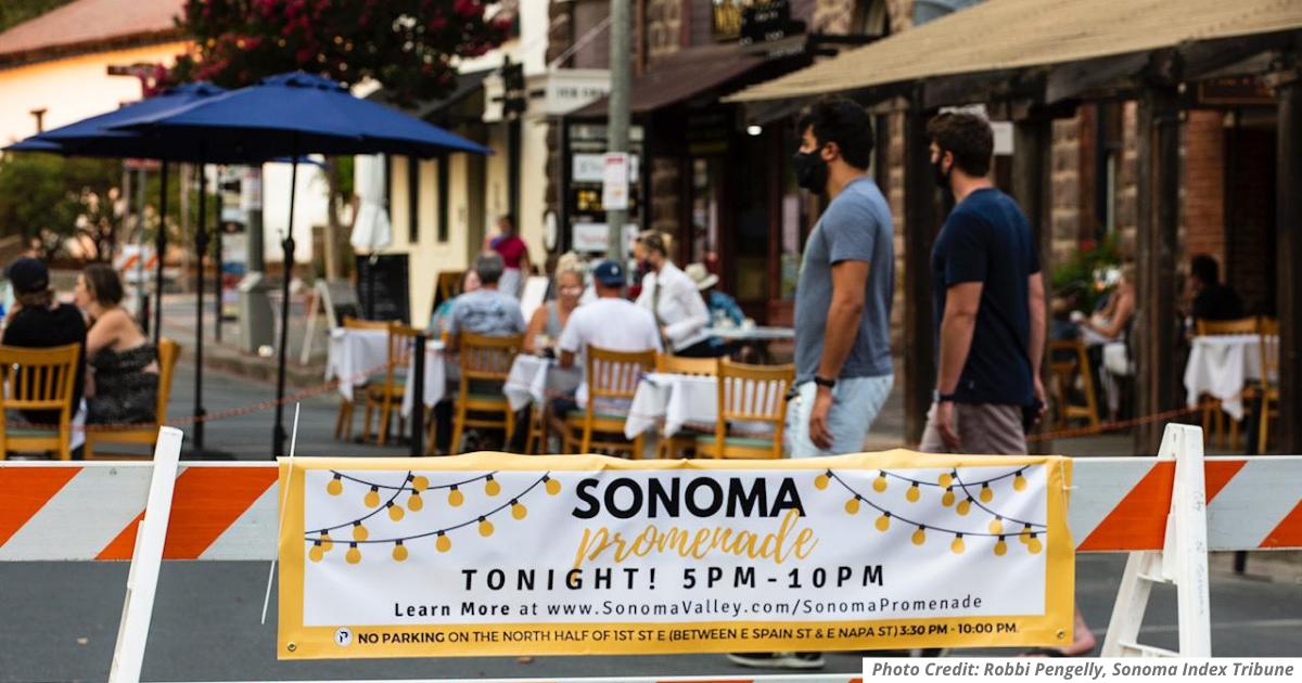 Sonoma Promenade, Photo by Robbi Pengelly, Sonoma Index-Tribune