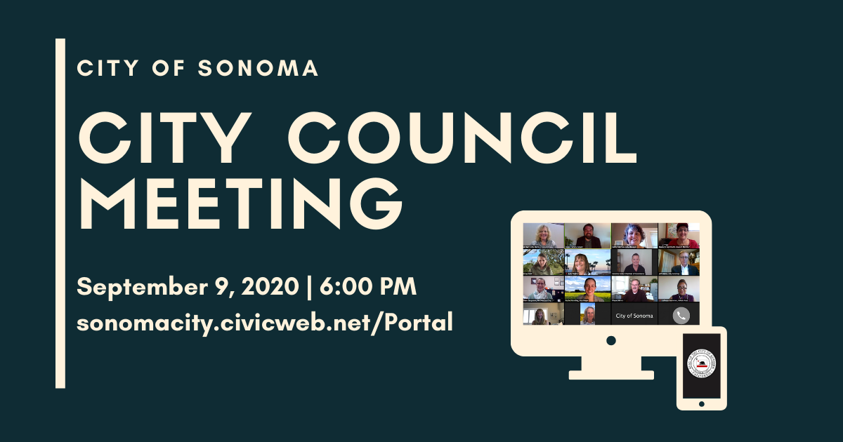 City Council Meeting, September 9th
