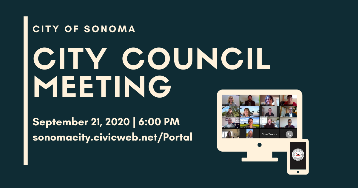 City Council Meeting, September 21st