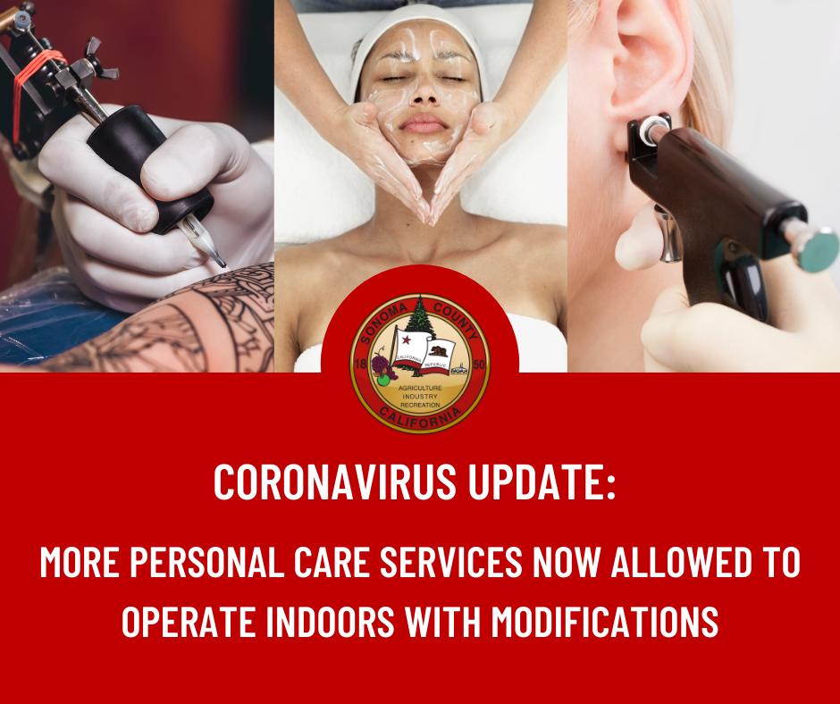 Coronavirus Update Sonoma County