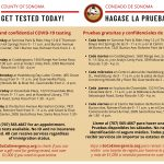County Pop Up COVID Testing
