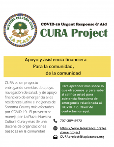 CURA Flyer Spanish