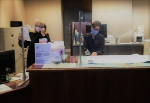 Counter staff