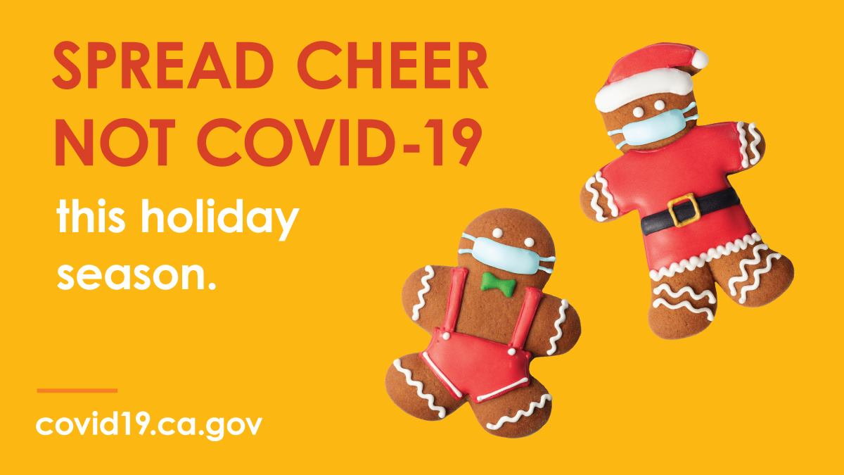 Spread Cheer Not COVID-19