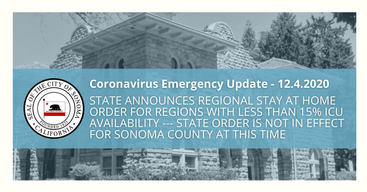COVID-19 Emergency Update