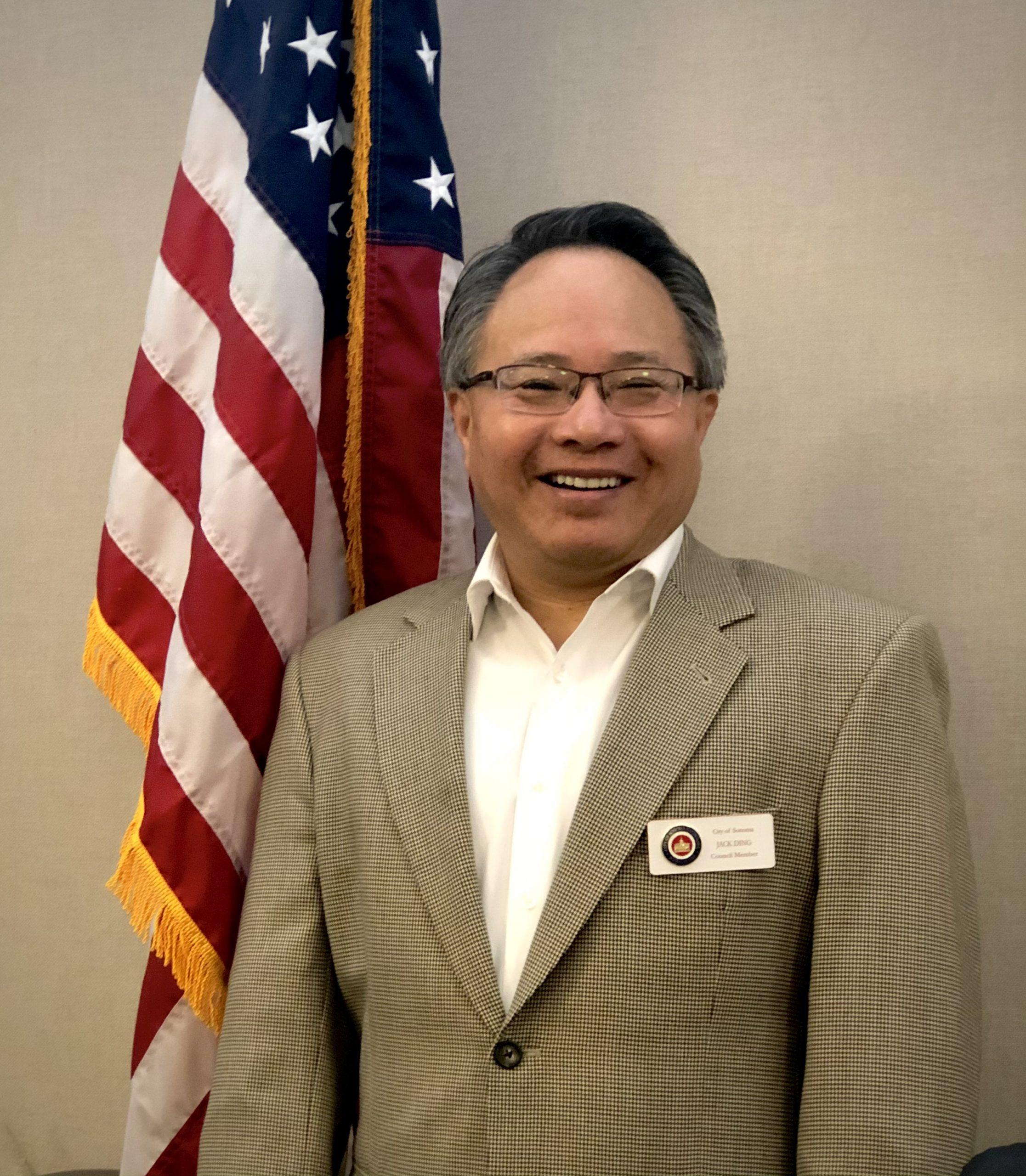 Council Member Jack Ding