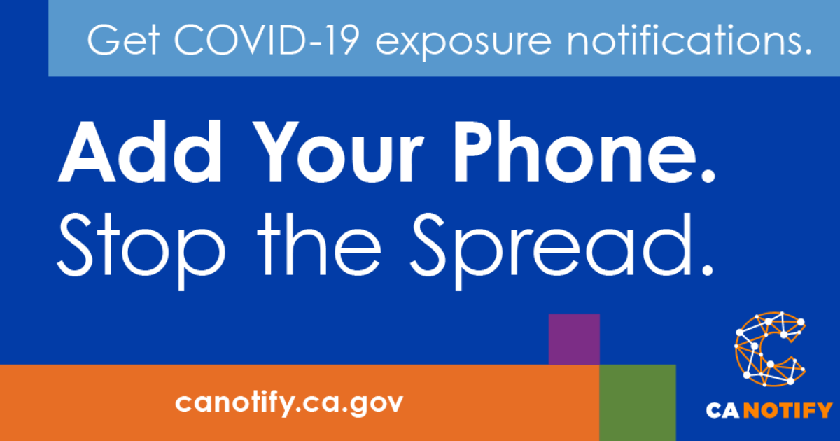 Add your Phone. Stop the Spread.