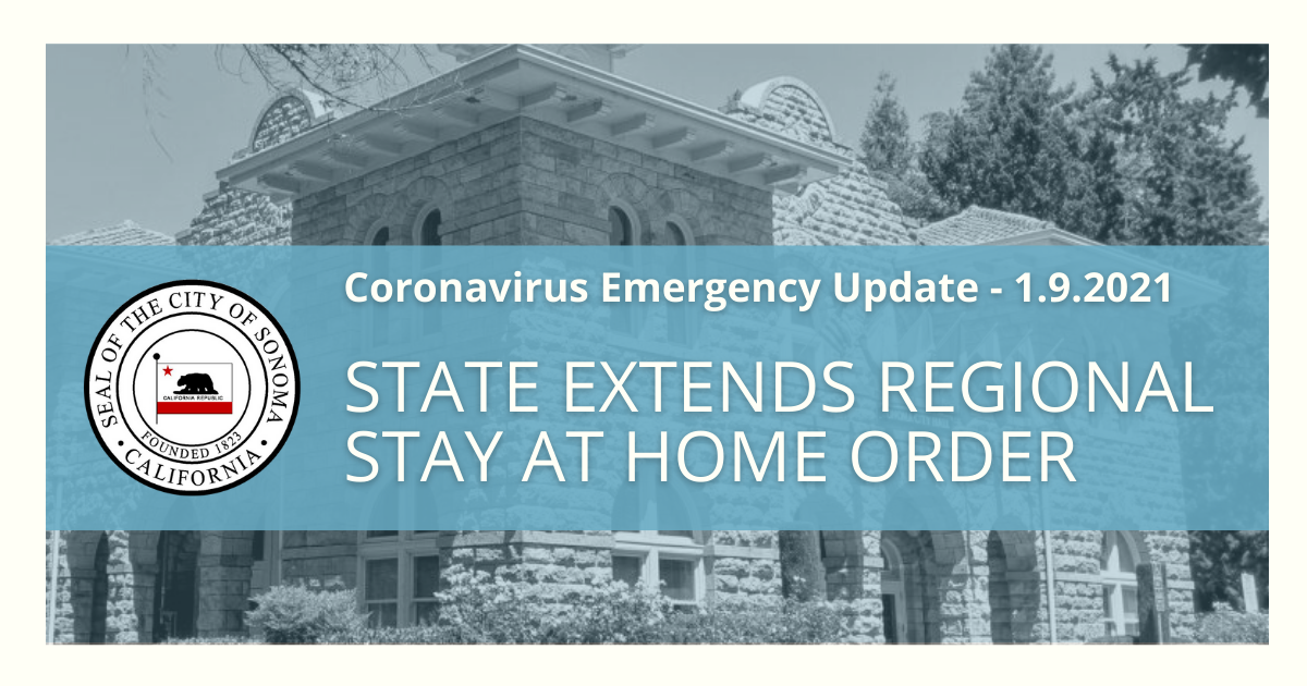 State Extends Regional Stay at Home Order