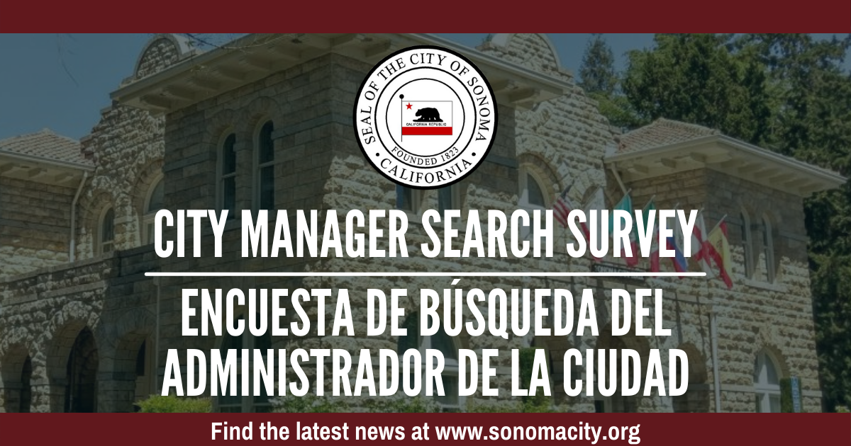 City Manager Search Survey