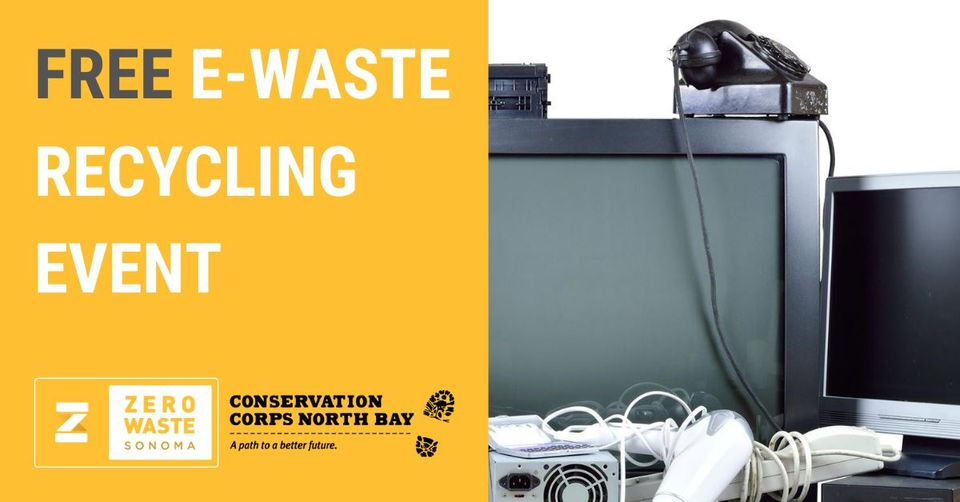 E Waste and Mattress Recycling Event