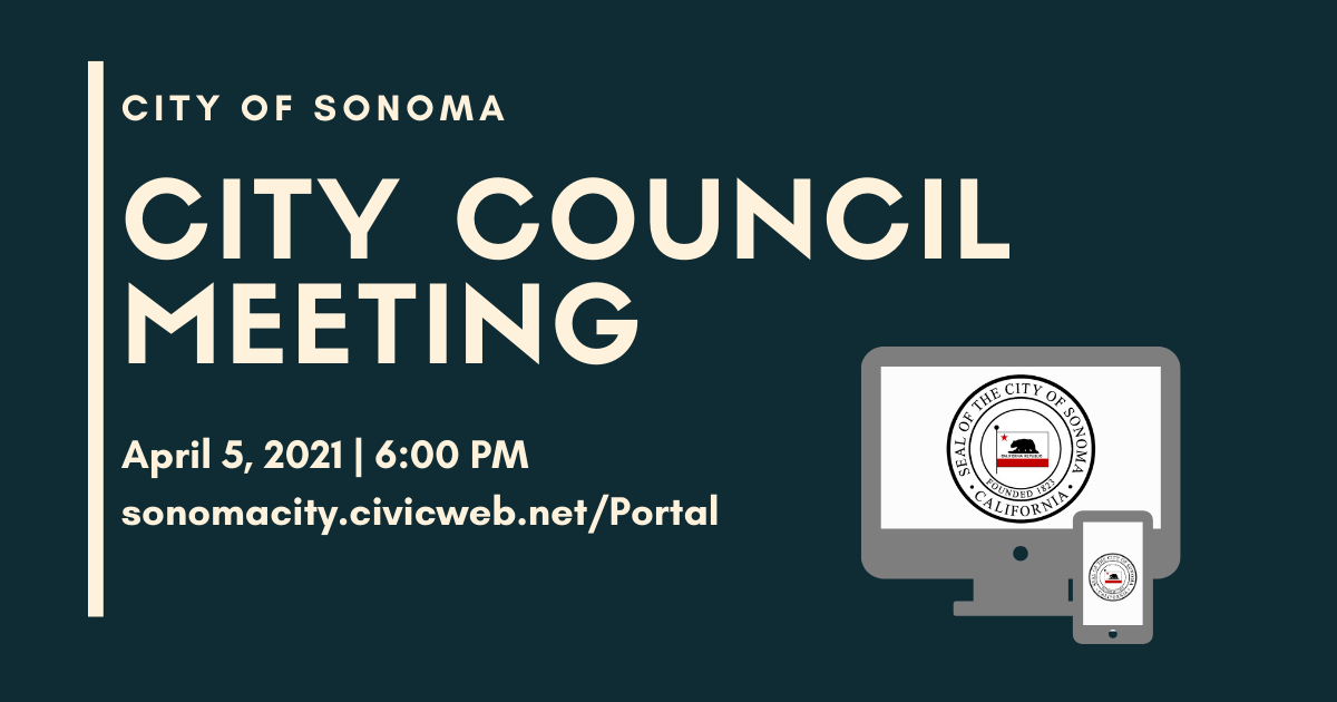 City Council Meeting, April 5th
