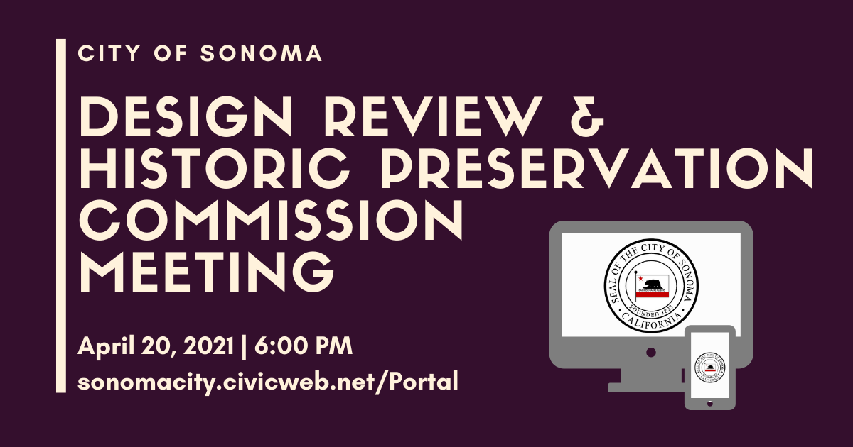 Design review and historic preservation commission meeting