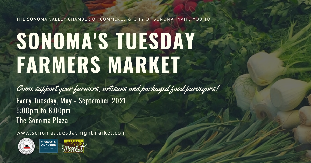 Sonoma's Tuesday Night Market